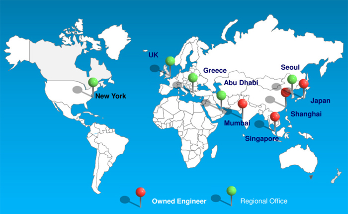 ISS Overseas Service Network